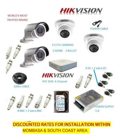 Hikvision 4 CCTV Bundle